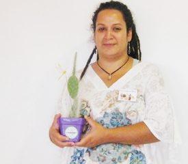 Florencia Rapisardi. emprendimiento: los cactus de Tyson