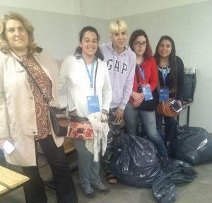 Equipo de la Incubadora entrega donaciones a Estrellita de mi Esperanza