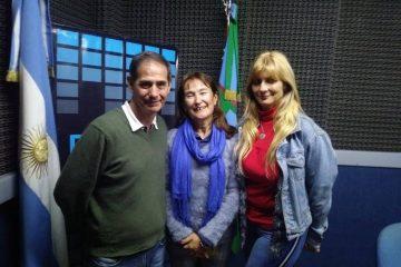 visita a la radio FM plus